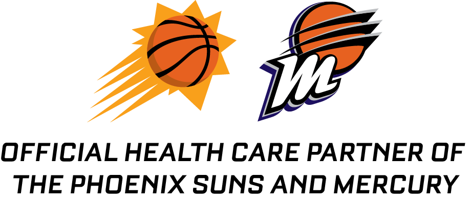 Official Health Care Partners of the Phoenix Suns and Phoenix Mercury